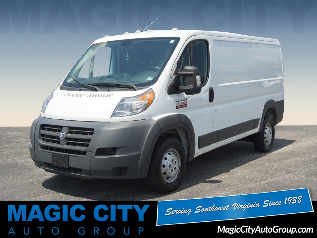 PRE-OWNED 2015 RAM PROMASTER CARGO 1500 136 WB FRONT-WHEE 1500 136 WB 3DR  LOW ROOF CARGO VAN