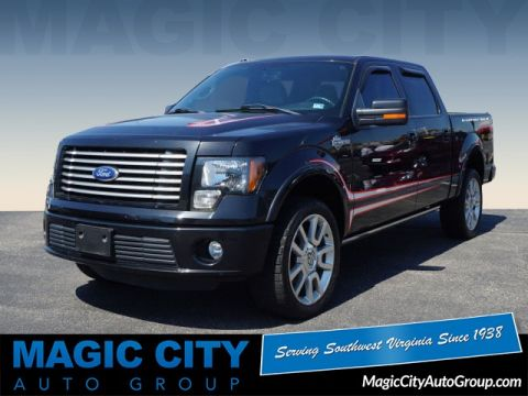 Pre-Owned 2011 Ford F-150 Harley-Davidson